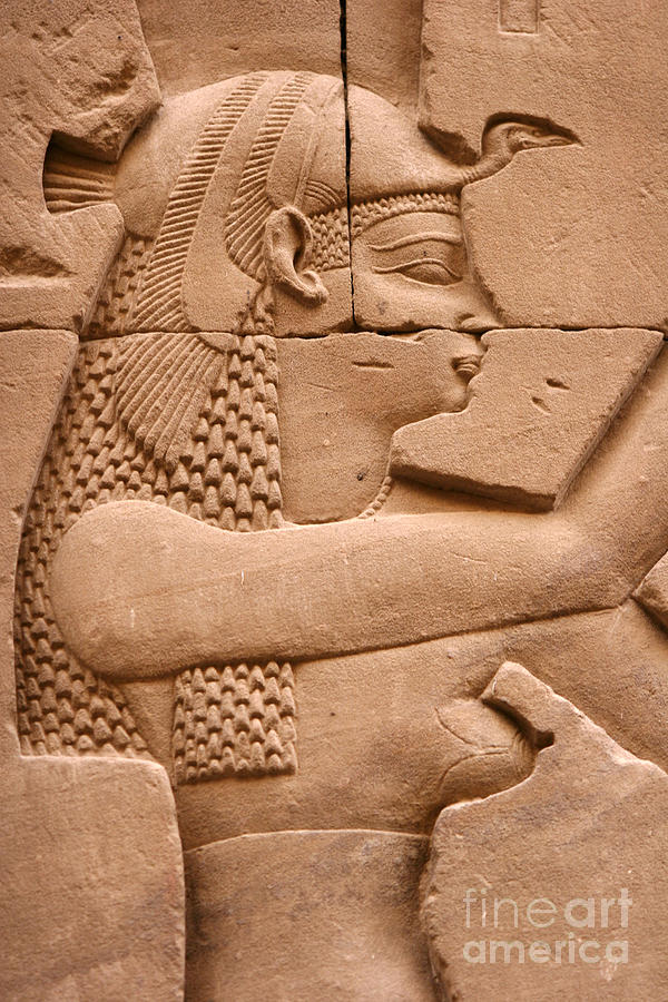 Relief Photograph - Wadjet by Stephen & Donna OMeara