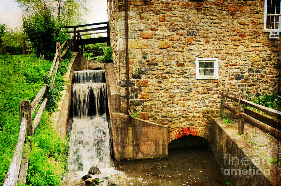 Mill Photograph - Wagner Grist Mill by Paul Ward
