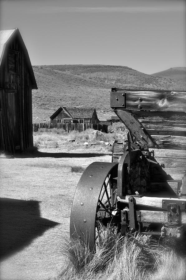 Bodie Photograph - Wagon  by Shelley Ewer