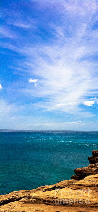 Beach View Photography Photograph - Waianae Coast by Lisa Cortez