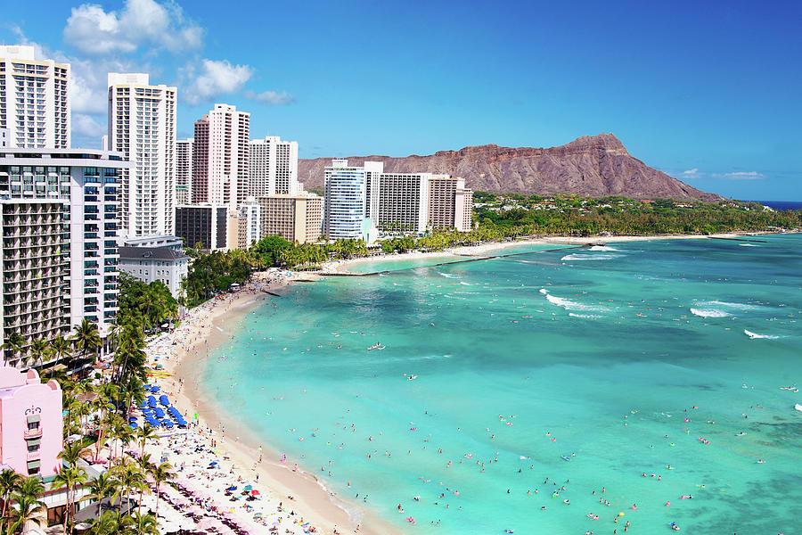 Waikiki Beach Photograph by M Swiet Productions
