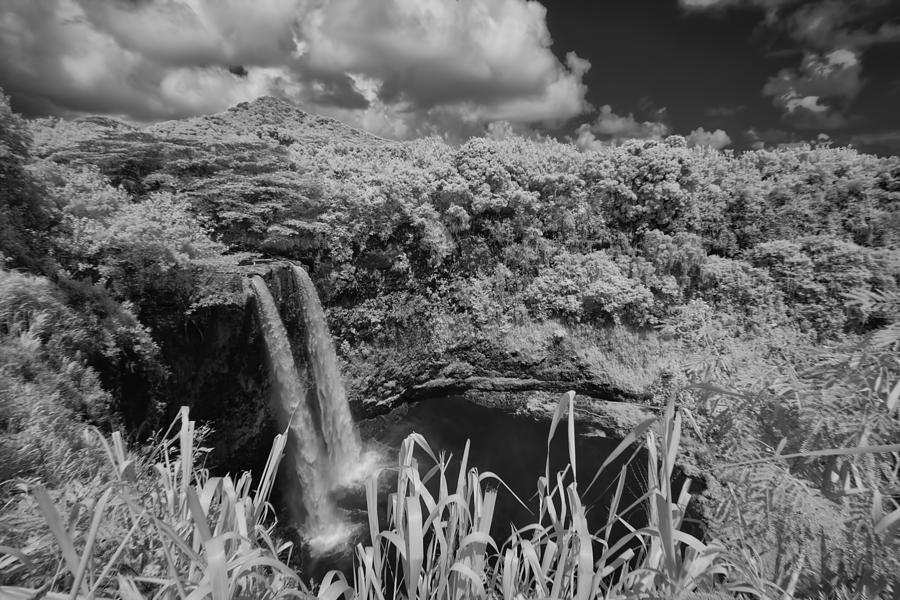 Wailua Falls Infrared by Michael Yeager