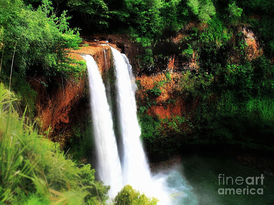 Wailua Falls Photograph