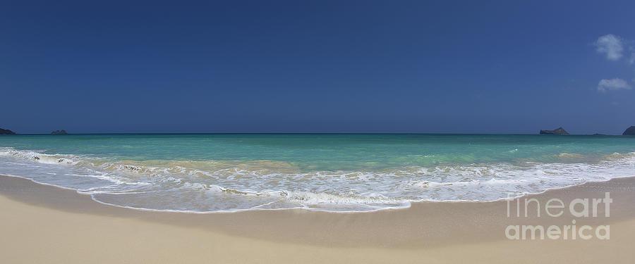 Waimanalo Beach Photograph - Waimanalo Beach by Anthony Calleja