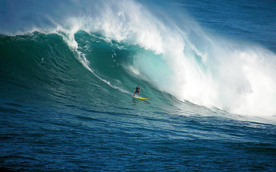 Waimea Bay Photograph - Waimea Bay Hawaii by Kevin Smith
