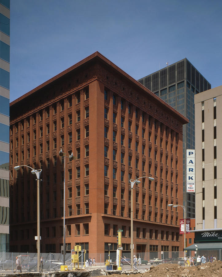 1990 Photograph - Wainwright Building by Granger
