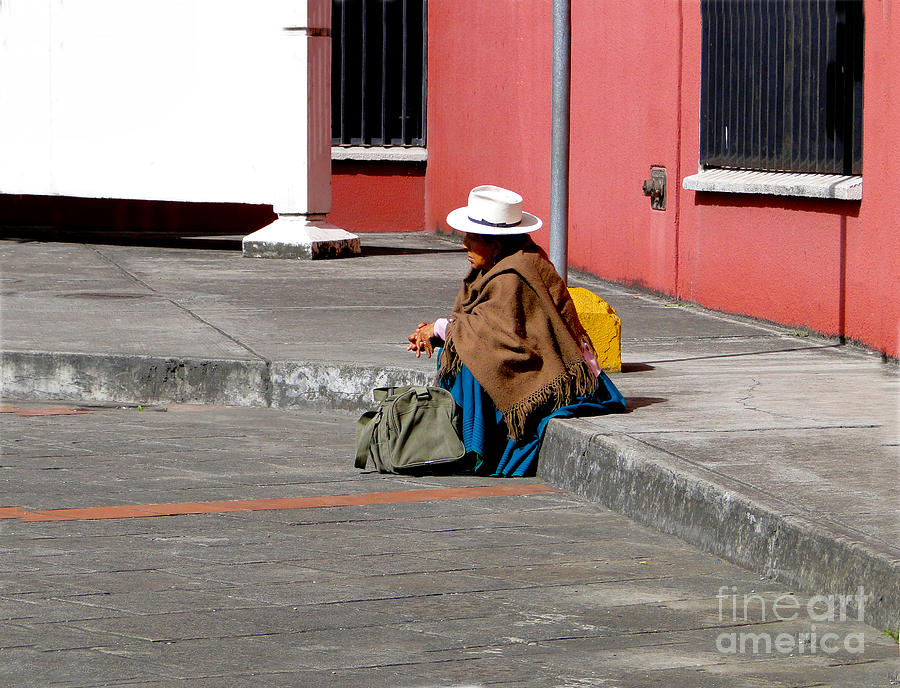 Lady Photograph - Waiting by Al Bourassa