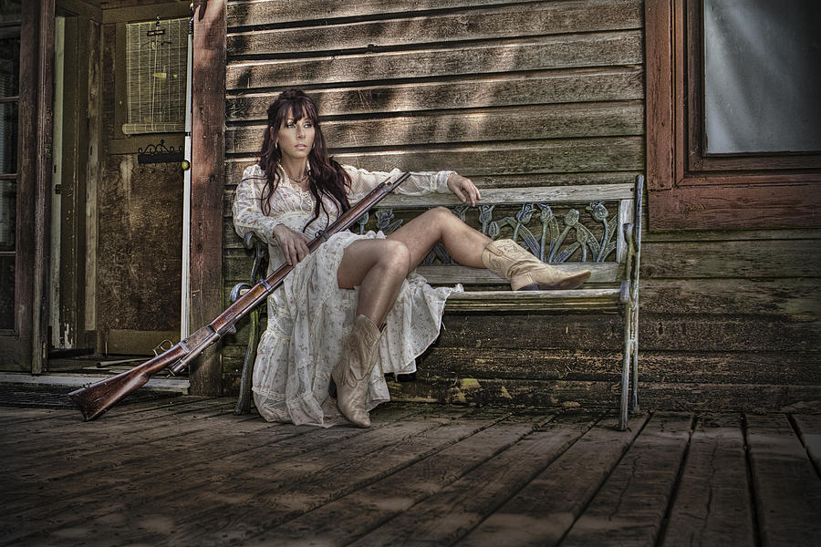 Country Photograph - Waiting by Naman Imagery