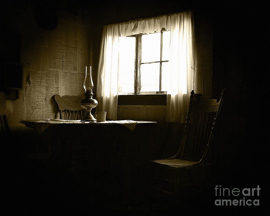 Room Photograph - Waiting For Company by Lincoln Rogers