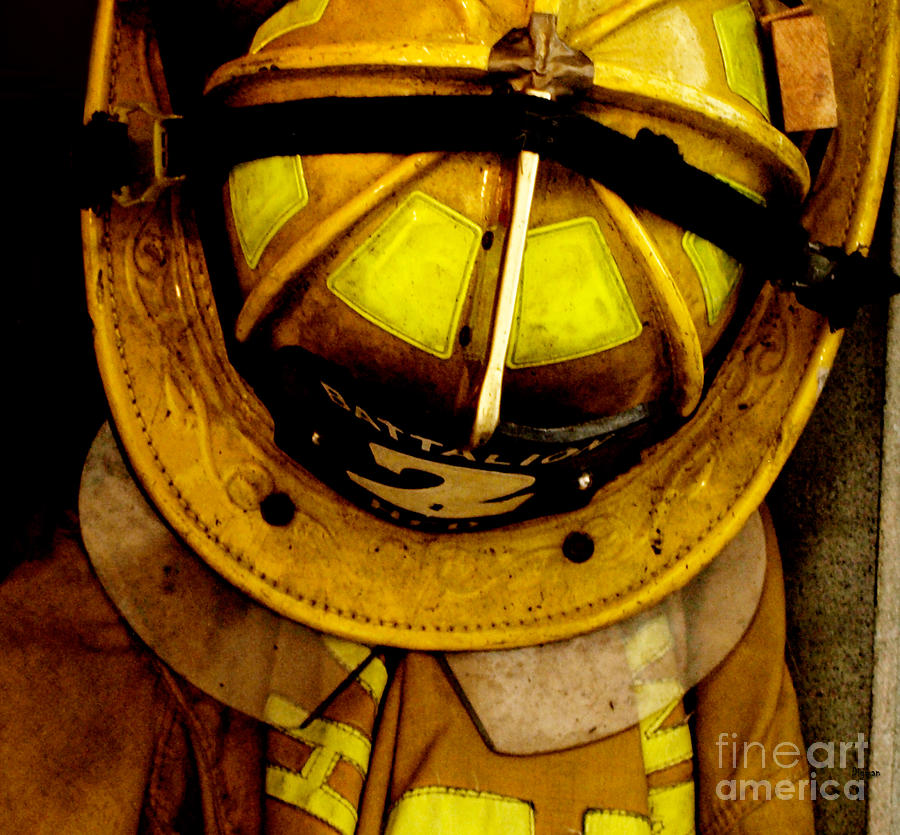 Fire Department Photograph - Waiting For Fire - Battalion 2  by Steven Digman