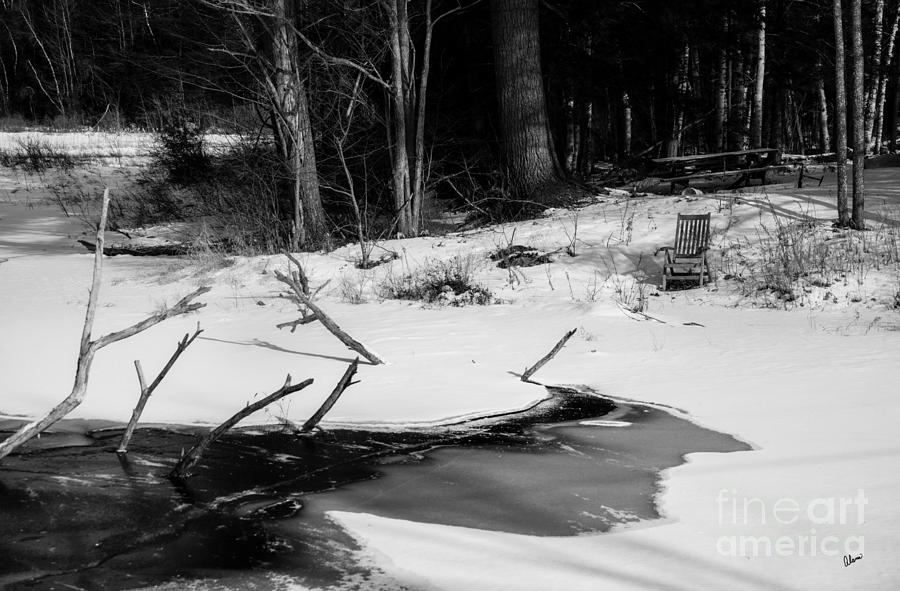 Maine Fine Art Photography Photograph - Waiting For Summer by Alana Ranney