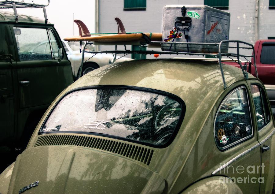 Vw Photograph - Beetle Surf   by Steven Digman