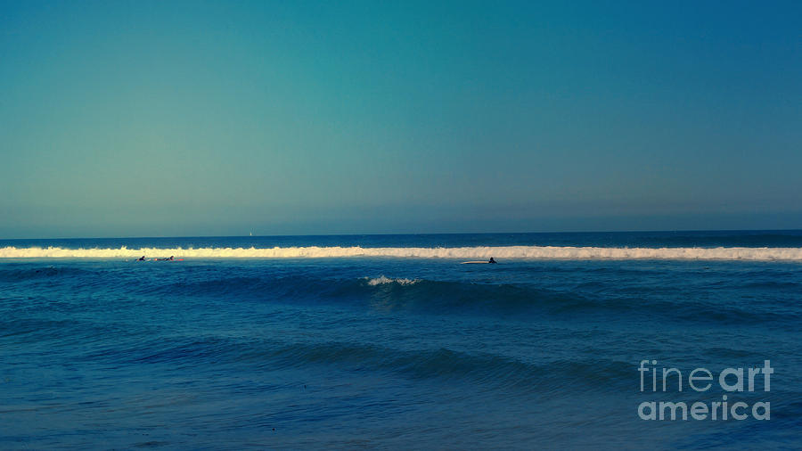 Landscape Photograph - Waiting For The Perfect Wave by Nina Prommer
