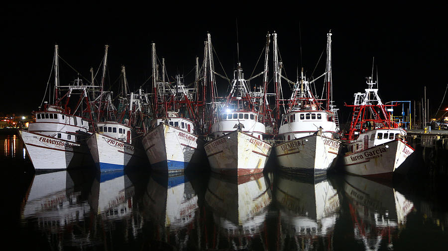 Ships Photograph - Waiting For The Season by Robert Bascelli