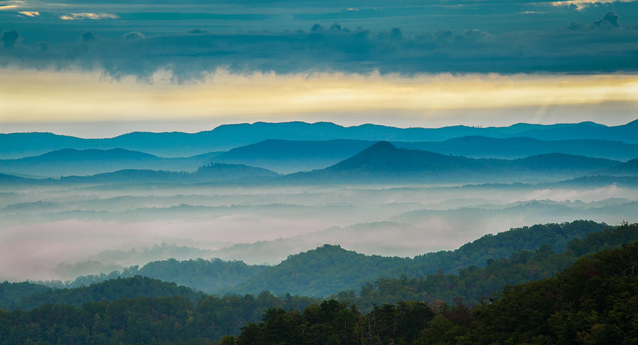 Asheville Photograph - Waiting For The Sun by Joye Ardyn Durham