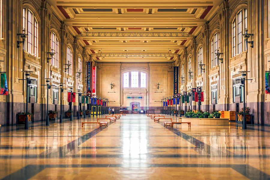 4 O'clock Photograph - Waiting For The Train by Sennie Pierson