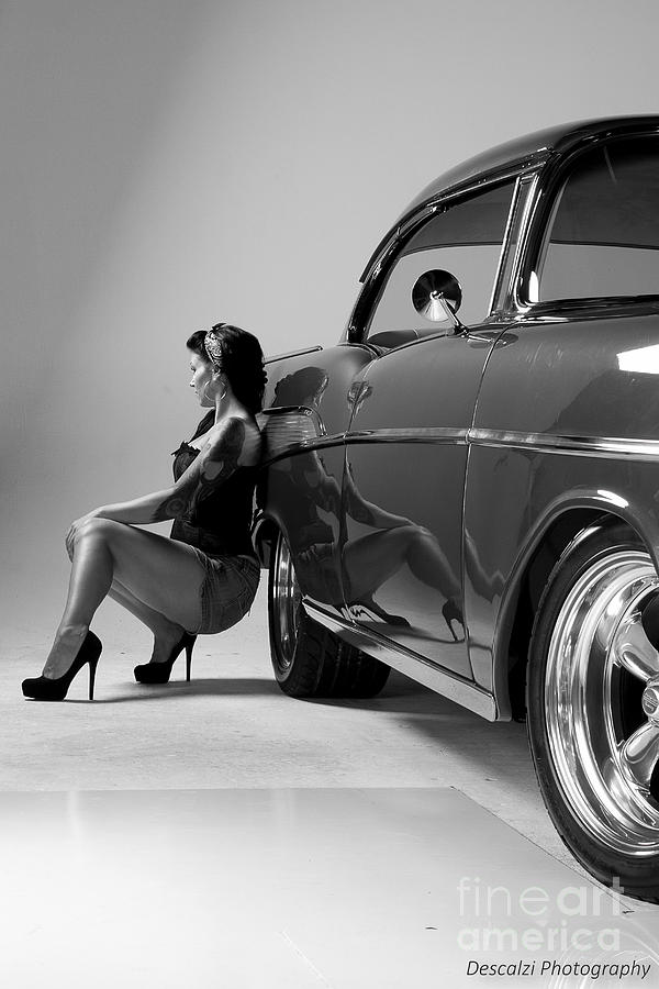 Chevy Photograph - Waiting Game by Patty Descalzi