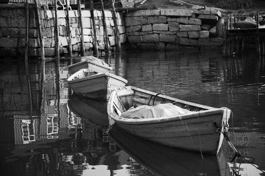 Boats Photograph - Waiting In Line by Don Powers