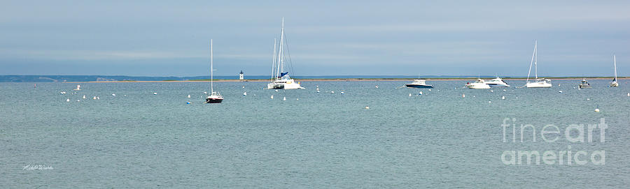 Provincetown Photograph - Waiting In Provincetown by Michelle Wiarda-Constantine