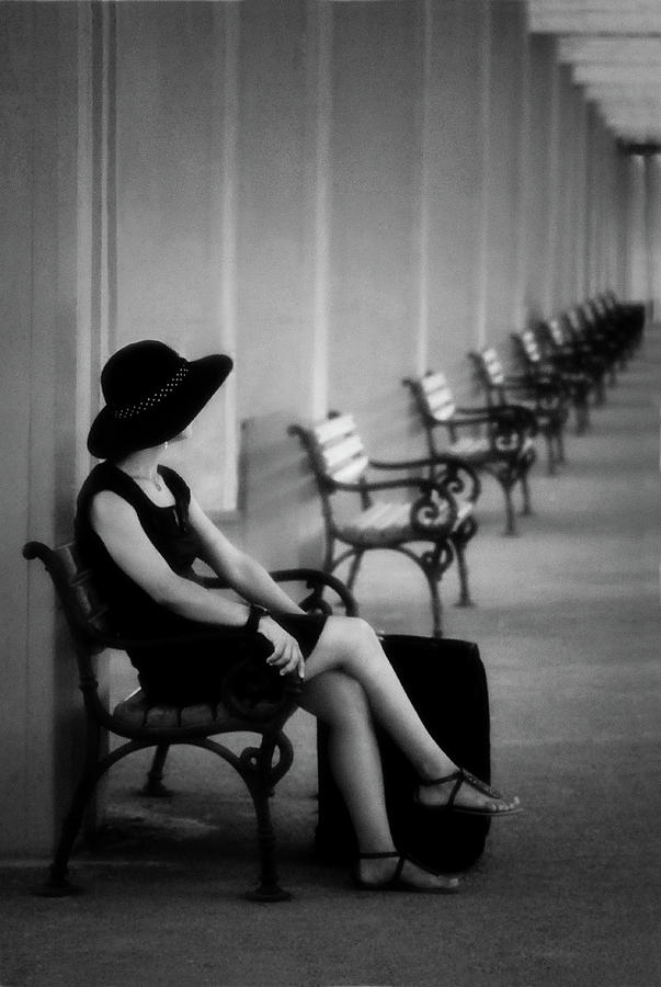 Hat Photograph - Waiting by ??mm??  Nisan