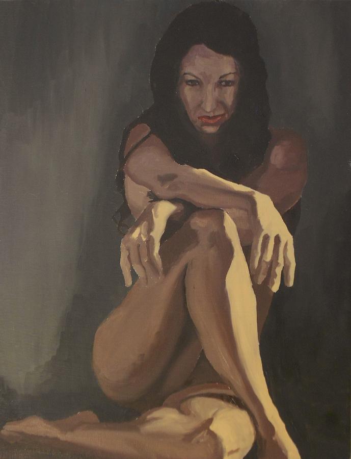 Waiting Painting by Stephen Panoushek
