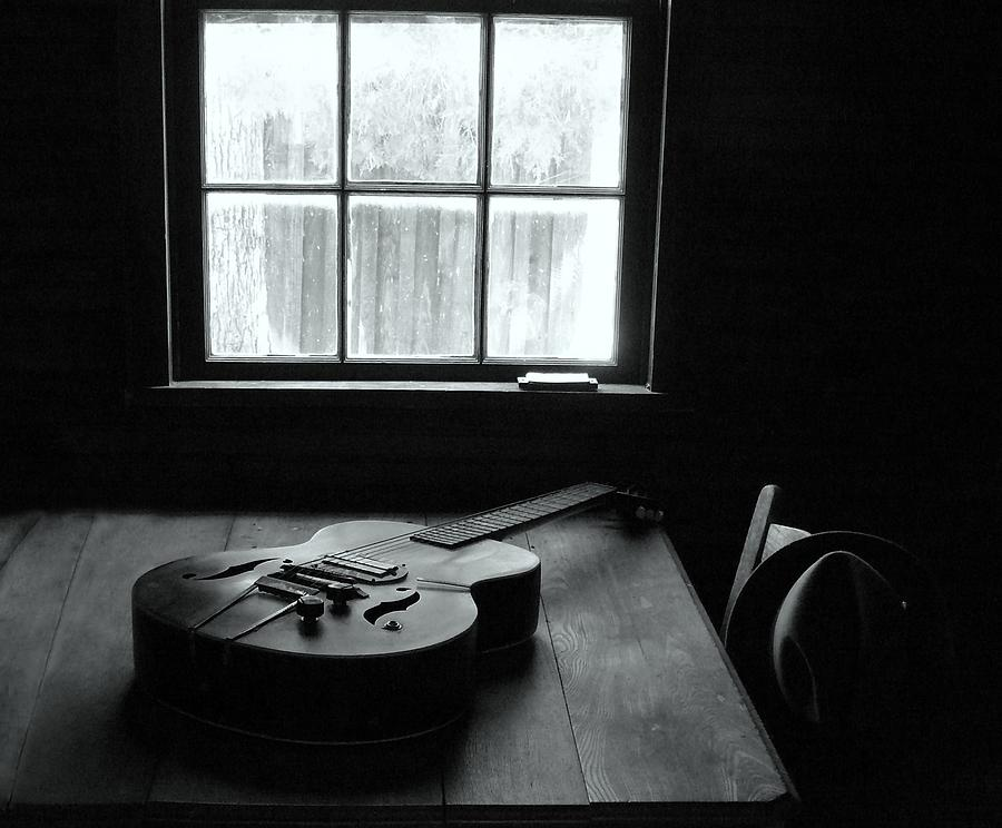 Guitar Photograph - Waiting To Play by EG Kight