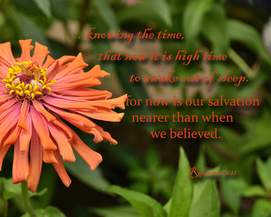 Scripture Photograph - Wake Out Of Sleep by Larry Bishop