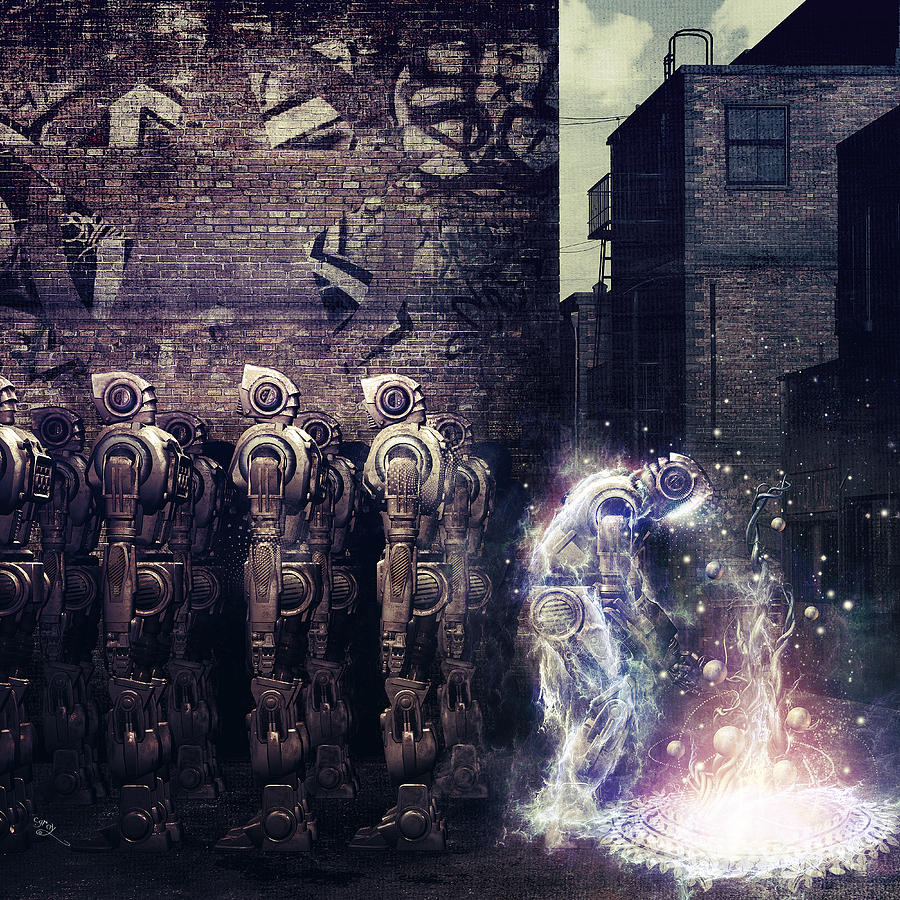 Dead Letter Circus Digital Art - Wake Up by Cameron Gray