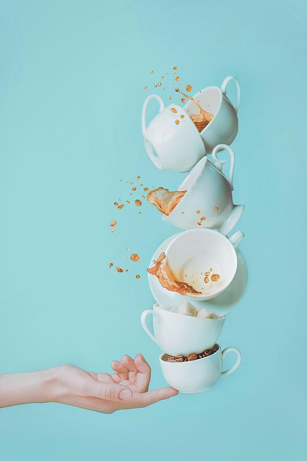 Balance Photograph - Waking Up by Dina Belenko