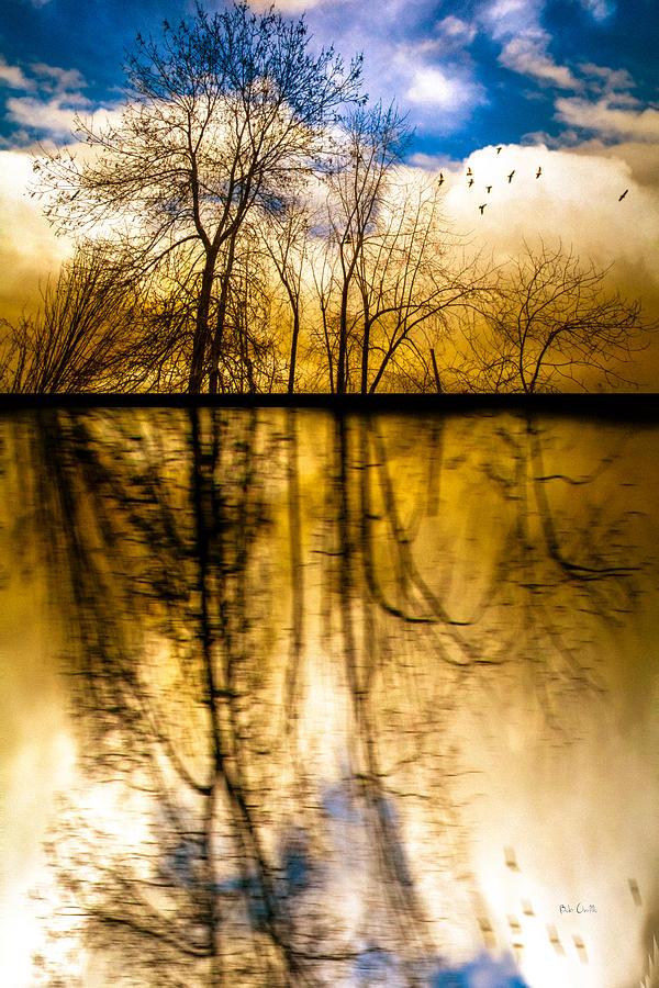 Dreamscape Photograph - Walk Along The River by Bob Orsillo