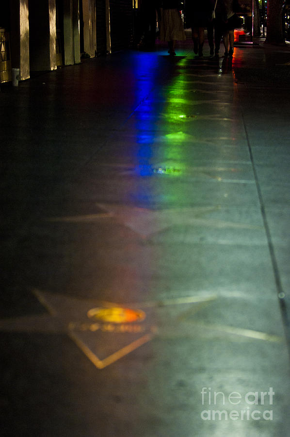 Hollywood Photograph - Walk Of Fame by Micah May