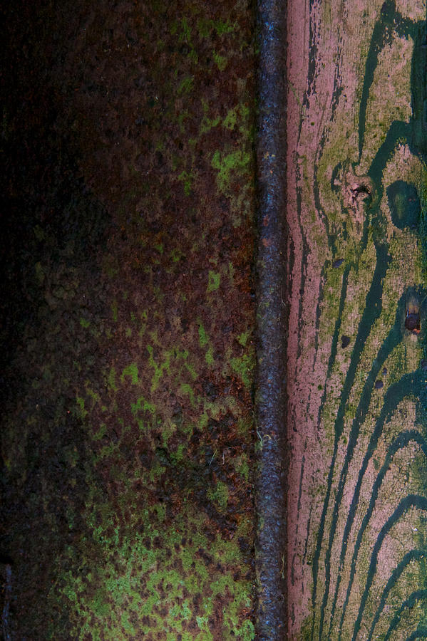 Abstract Photograph - Walk The River by Odd Jeppesen