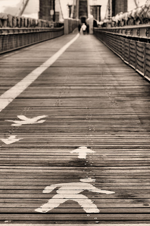 Walk This Way Photograph - Walk This Way by JC Findley