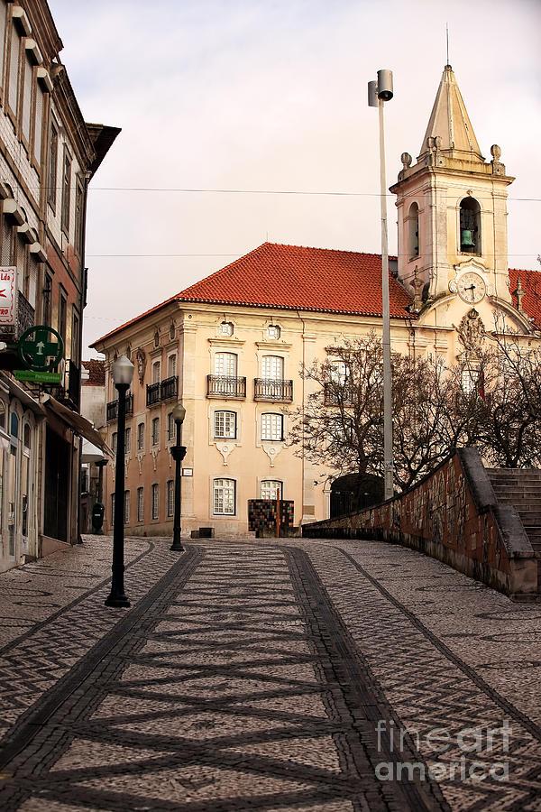 Street Photograph - Walk To The Church by John Rizzuto
