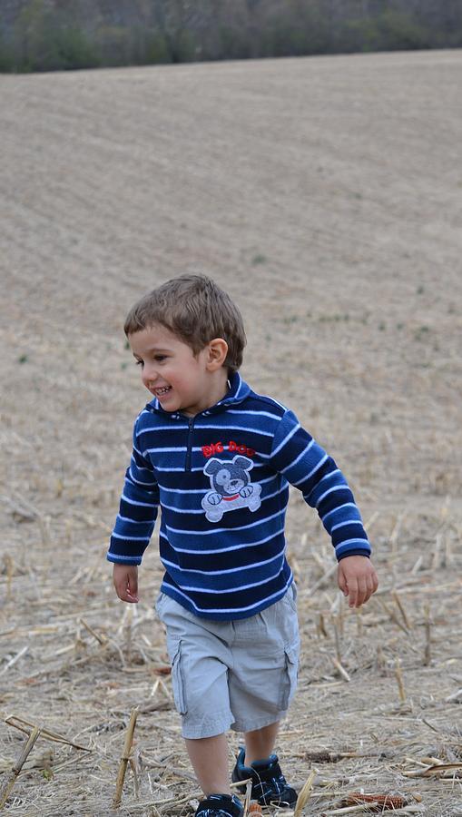 Farm Photograph - Walk by Azy Foley Photography