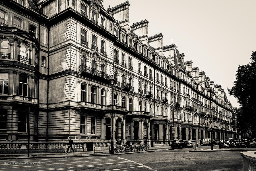 Hdr Photograph - Walker In Belgravia by Ross Henton