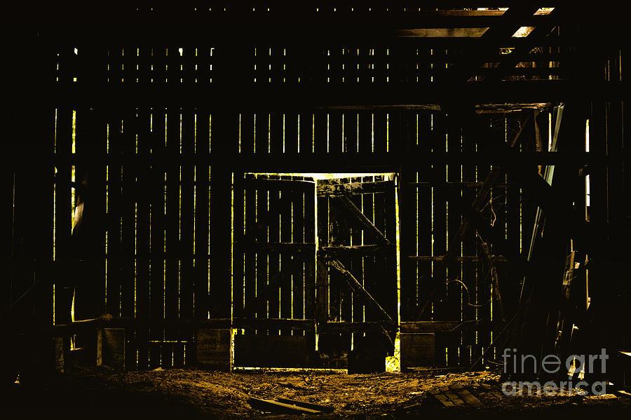 Barn Photograph - Walking Dead by Andrew Paranavitana