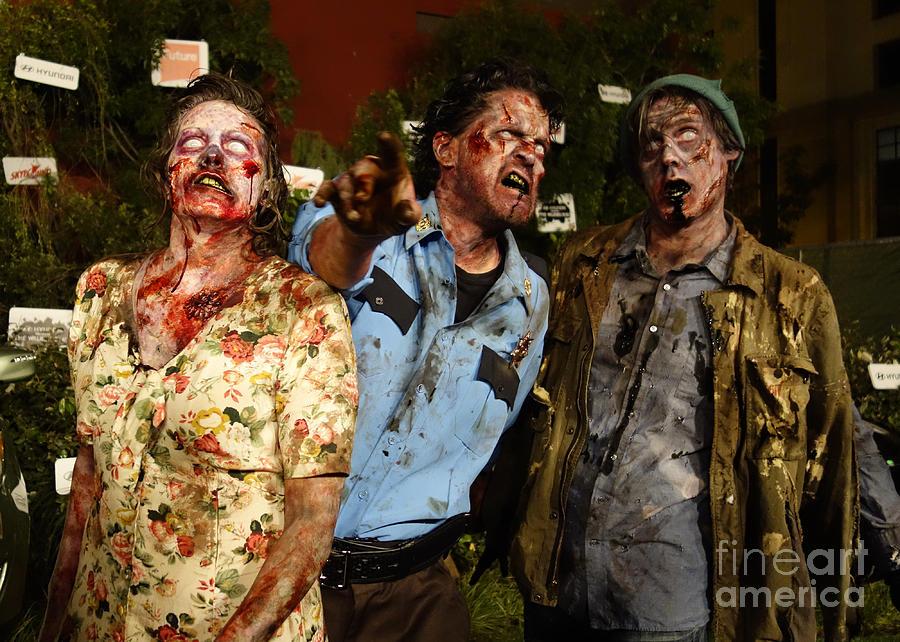 Dead Photograph - Walking Dead by Nina Prommer