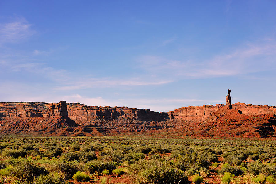 Valley Photograph - Walking In The Valley Of The Gods by Christine Till
