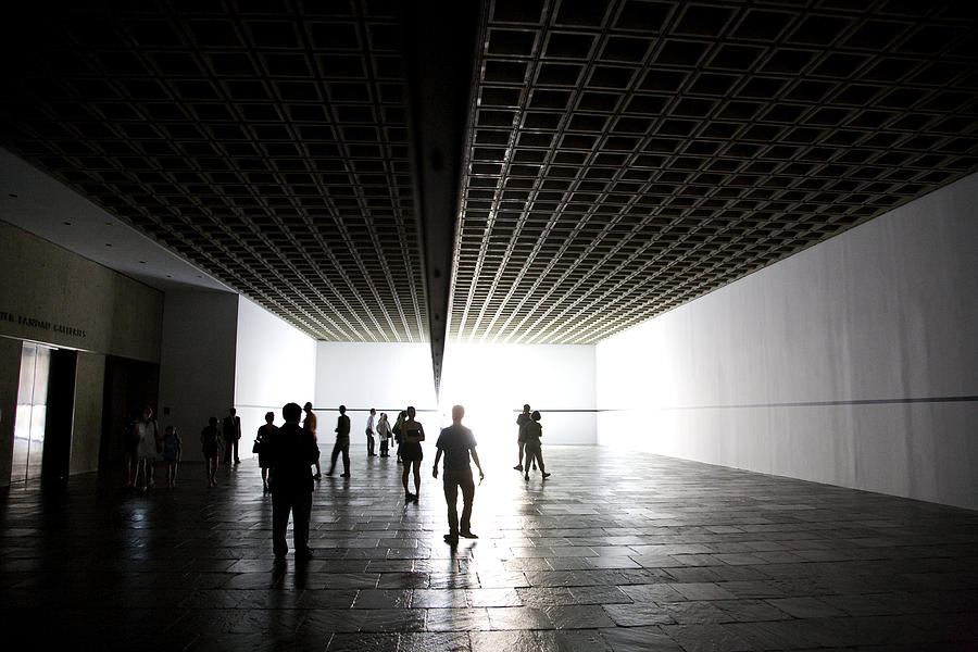 Whitney Photograph - Walking On Light by Joanna Madloch