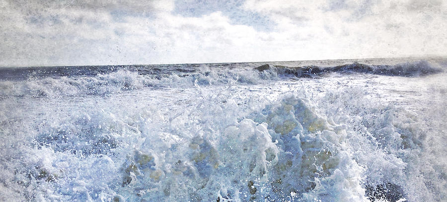Sea Mixed Media - Walking On Water I by Kevyn Bashore