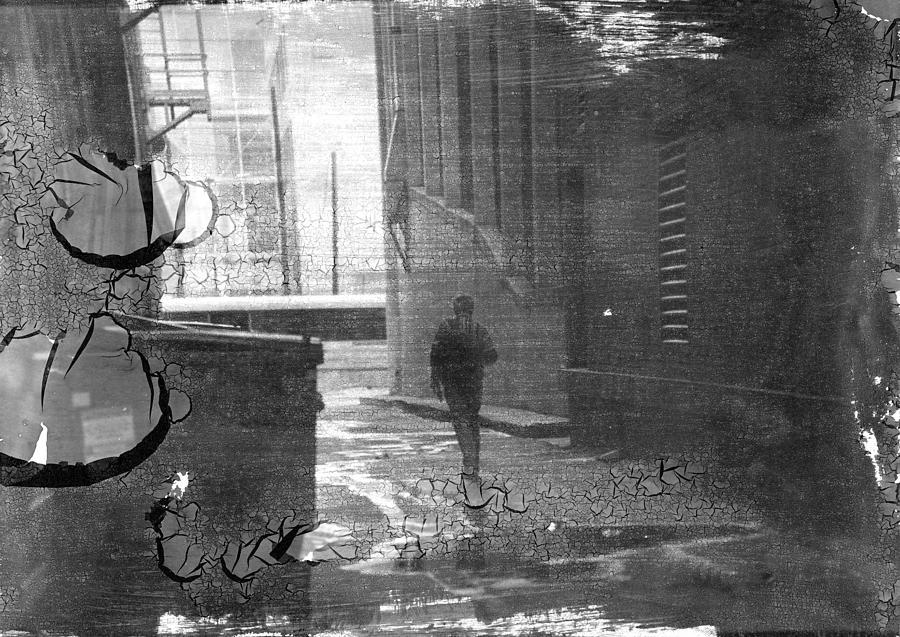 Alley Photograph - Walks Of Life by Trevor Garner