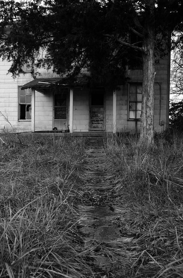 Abandoned Photograph - Walkway II by Off The Beaten Path Photography - Andrew Alexander