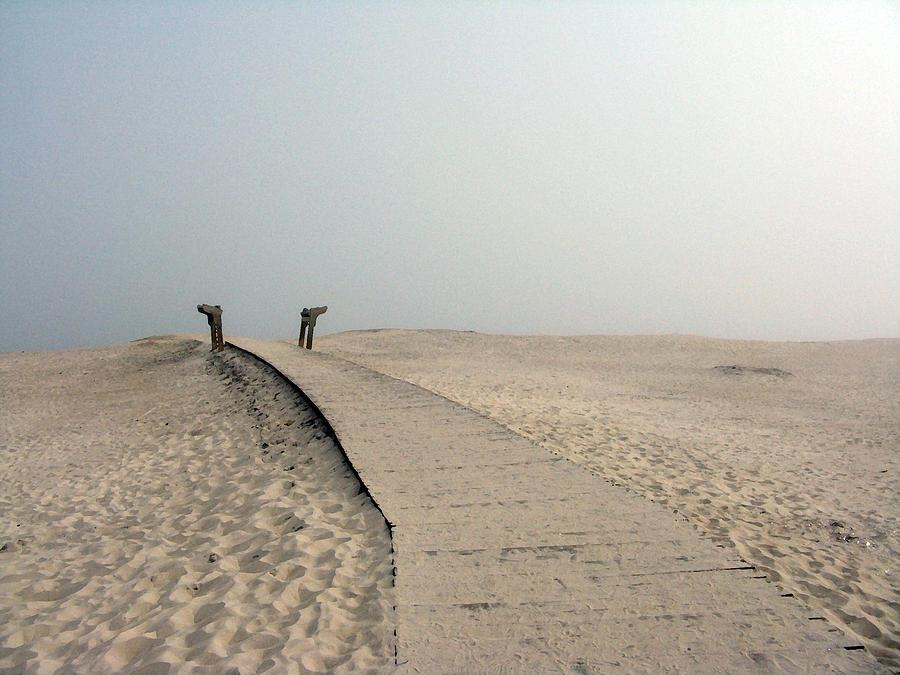 Beach Photograph - Walkway To Thoughts by Patricia Januszkiewicz