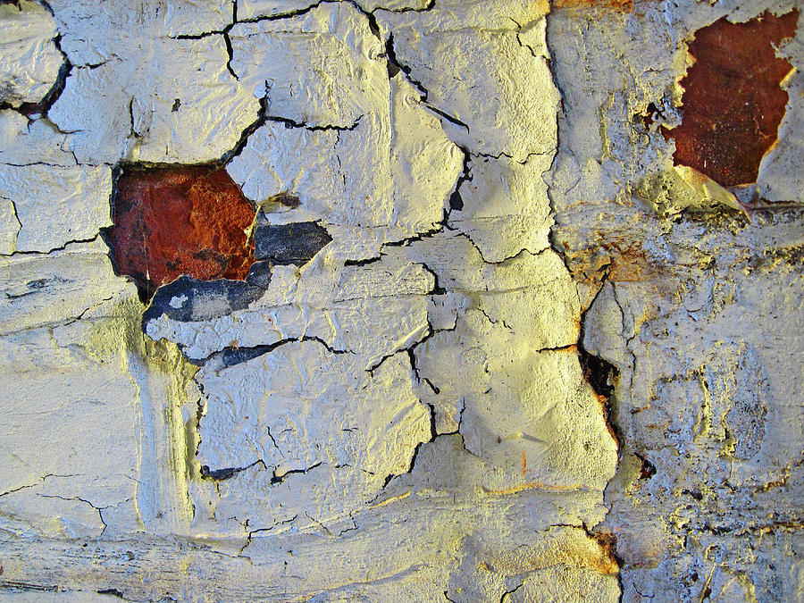 Wall Photograph - Wall Abstract 4 by Mary Bedy