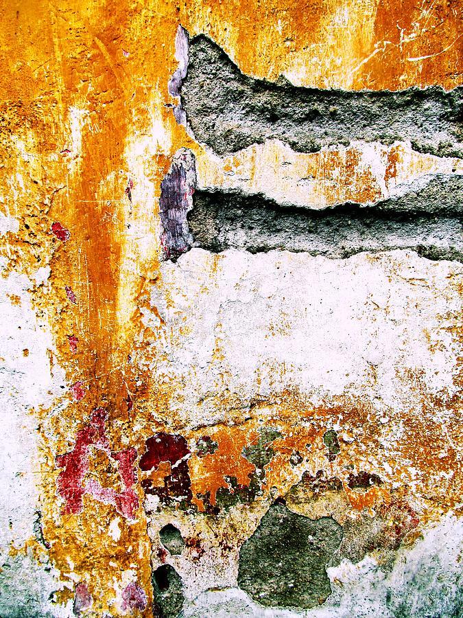Abstract Painting Digital Art - Wall Abstract 62 by Maria Huntley
