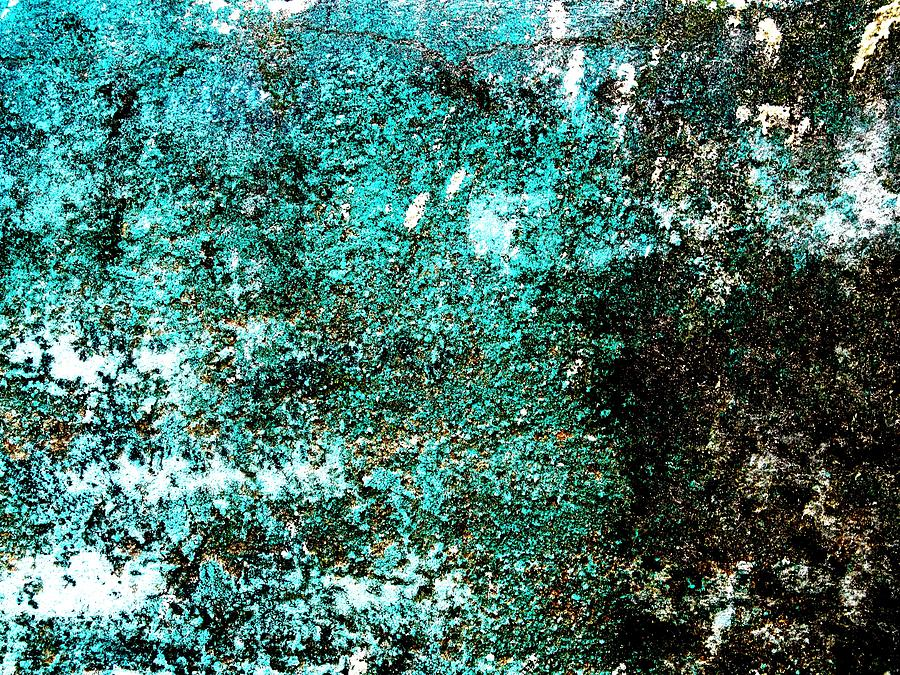 Abstract Painting Digital Art - Wall Abstract 9 by Maria Huntley