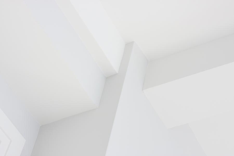 Wall Ceiling Corner Architecture Decor Photograph by Chuckschugphotography