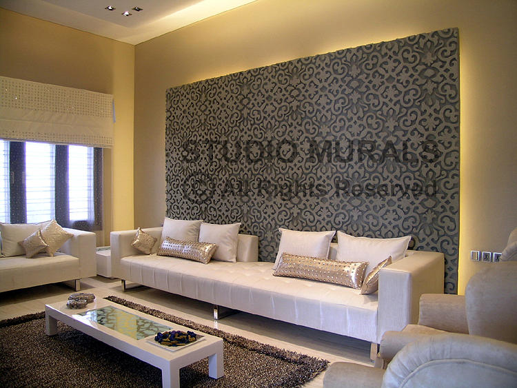 Murals Sculpture - Wall Mural by Milind Badve