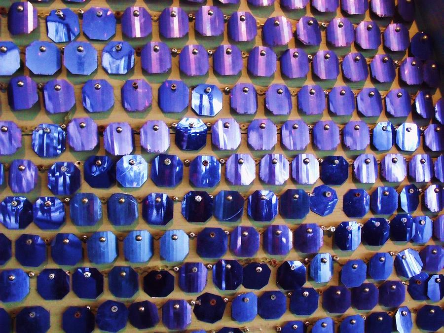 Blue Photograph - Wall Of Blue by Anna Villarreal Garbis